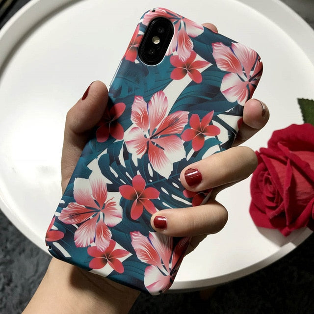 Matte Hard PC Phone Cases For iphone 8 7 6 6S Plus X XR XS 11 Pro Max Case