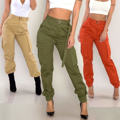 Womens Military Combat Cargo Pants