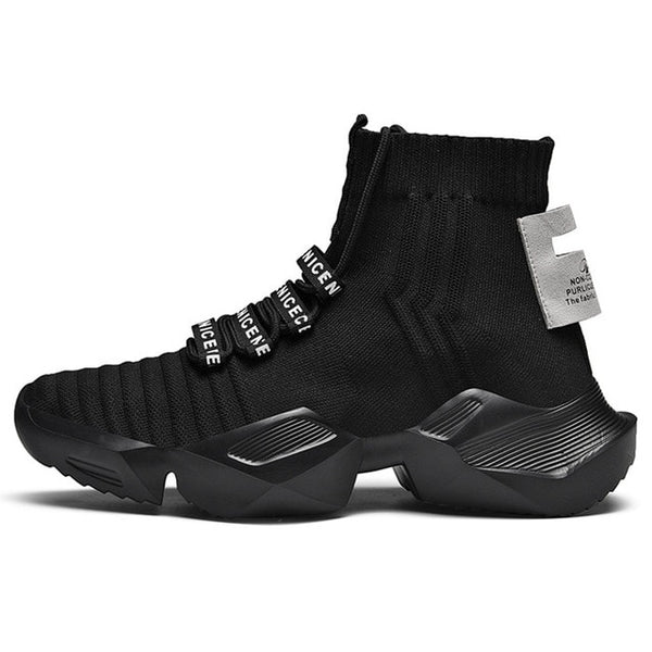 Mens Walking Breathable Sock Sneakers