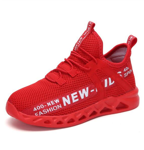 Kids Breathable Running Sneakers