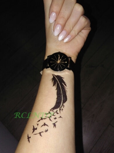 Waterproof Temporary Tattoo Body Art Stickers