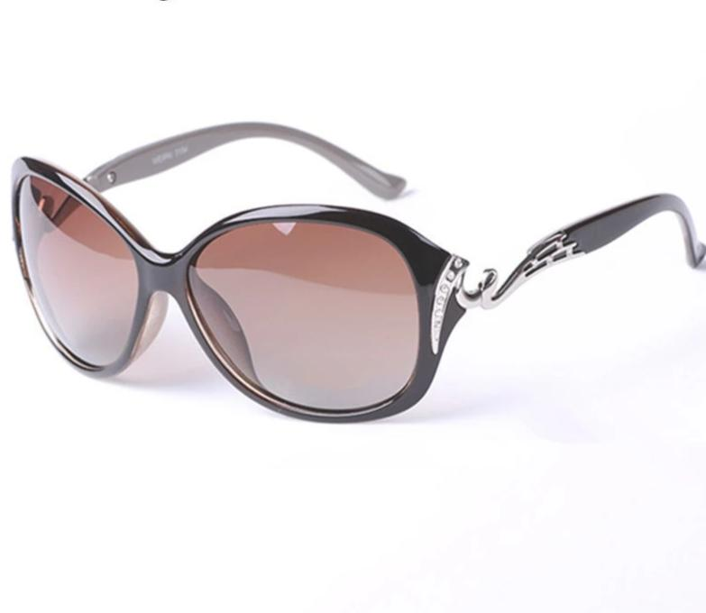 Womens Hot Polarized Rhinestone Sunglasses