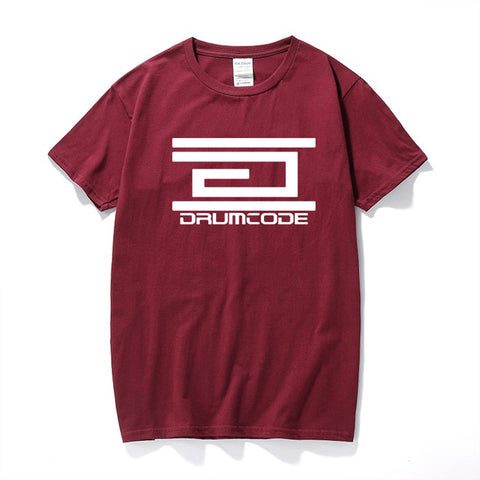 Mens Summer Casual Drumcode Records T-Shirt