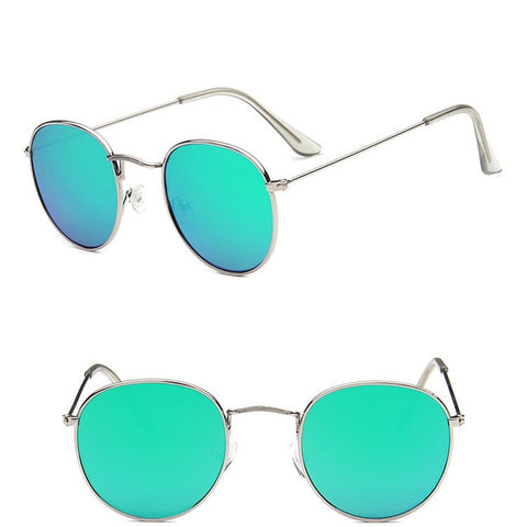 Womens Round Classic Street Beat Sunglasses