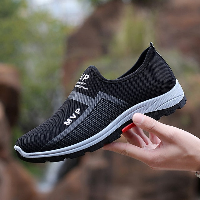 Mens Casual Mesh Breathable Shoes