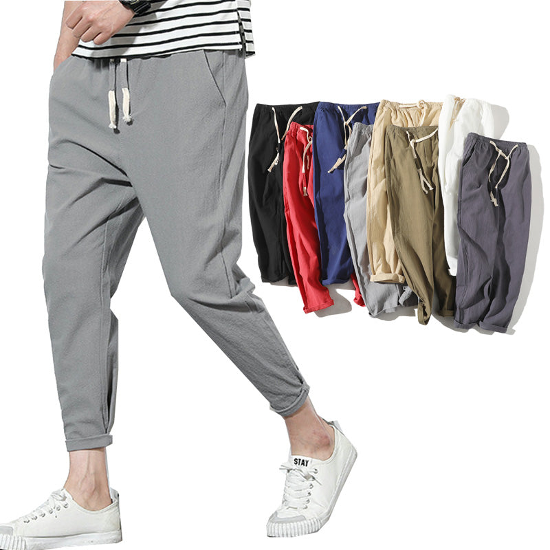 Mens High Quality Casual Pants - Hypa Fashion