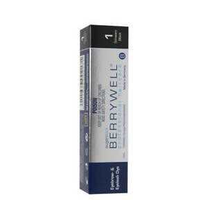 BERRYWELL | Eyebrow & Eyelash Dye 15ml Black 1
