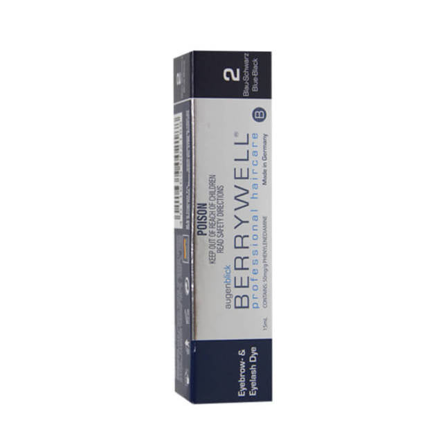 BERRYWELL | Eyebrow & Eyelash Dye 15ml Blue Black 2
