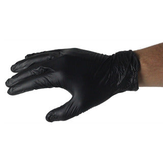 Bastion | Nitrile Powder Free Gloves Black - Medium