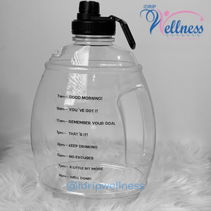 "The iDrip Wellness ""H2o on the Go"" Bottle (*SHIPS 8/3*)"