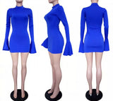 Bodied Bell Sleeve Dress