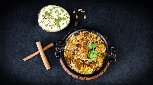 Ready-made meal - Fragrant Lamb Biryani