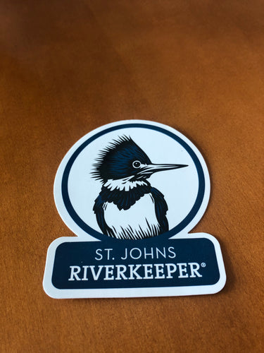 Kingfisher Decal ($2 Suggested Donation)
