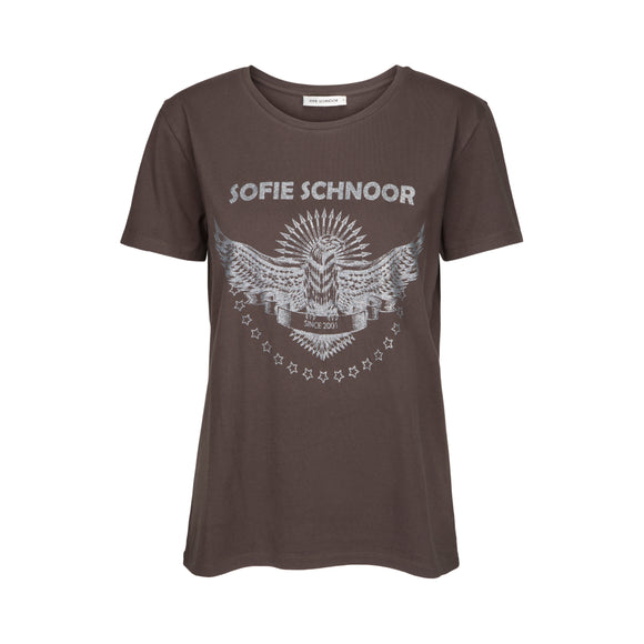 T-Shirt - Sofie Schnoor - Chocolate