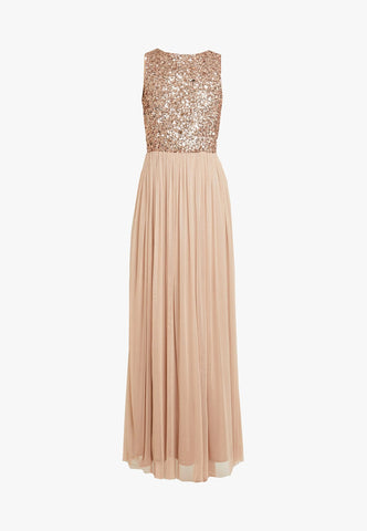 Picasso Taupe Bridesmaid Dress