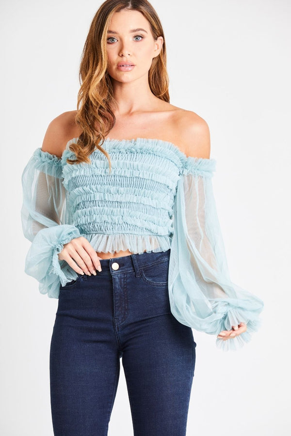 Rolf Top in Teal