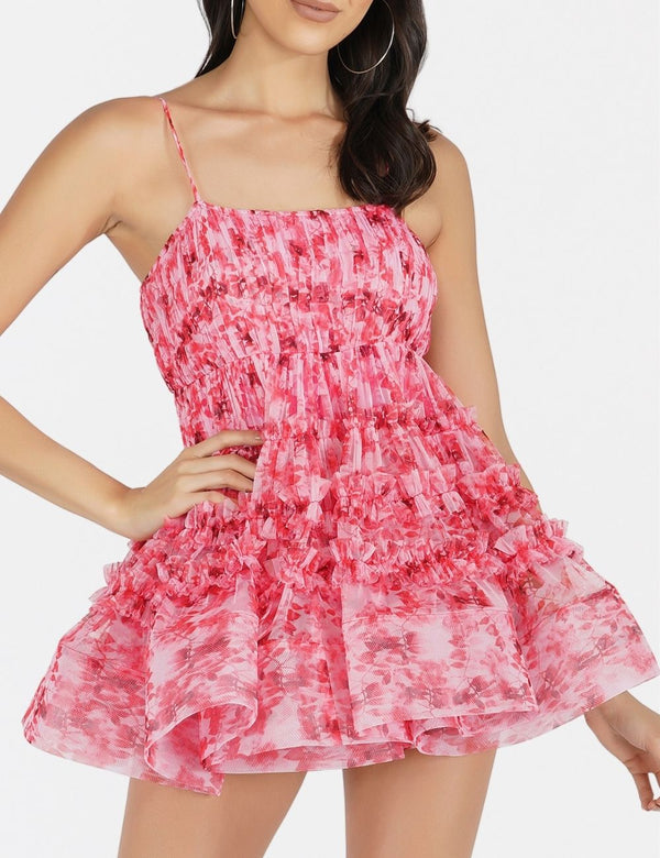 Bethan Tulle Mini Dress