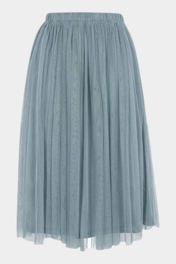 Merlin Teal Midi Skirt