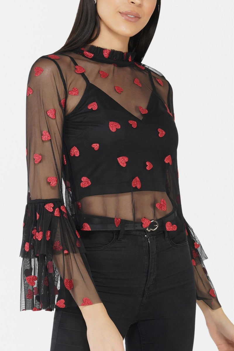Lunette Heart Top