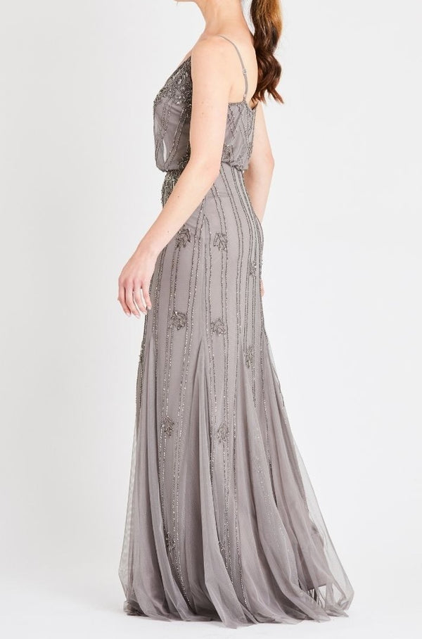 Keeva Maxi in Light Grey