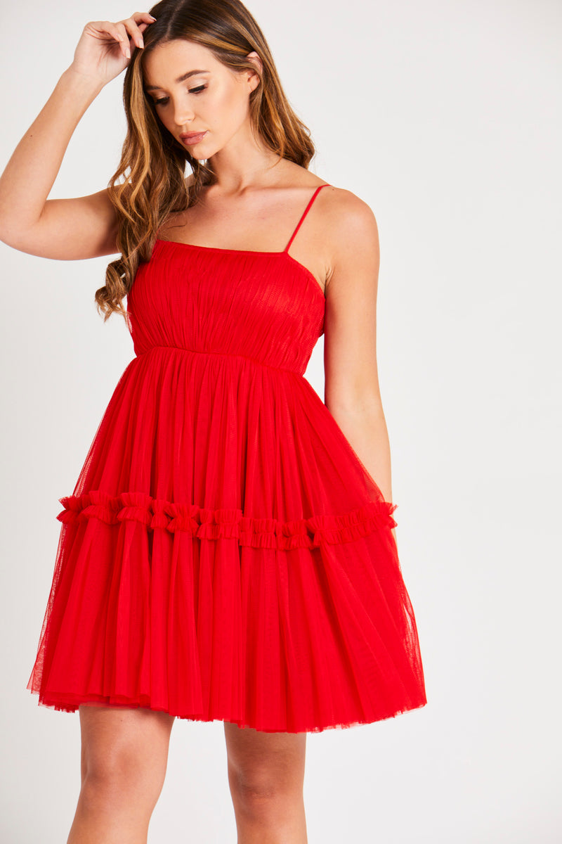 Betty Dress in Red
