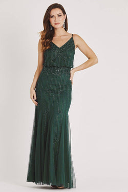 Keeva Emerald Green Bridesmaid Maxi Dress