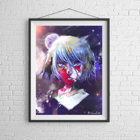 Earth-chan • Stampa A3
