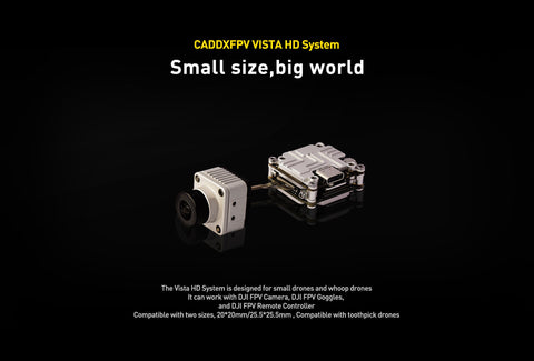 CaddxFPV Vista HD system for Dji FPV HD system