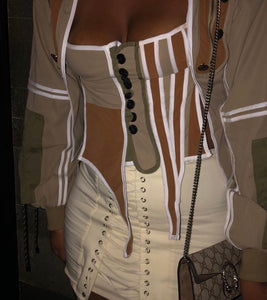 Cargo Corset Two Piece