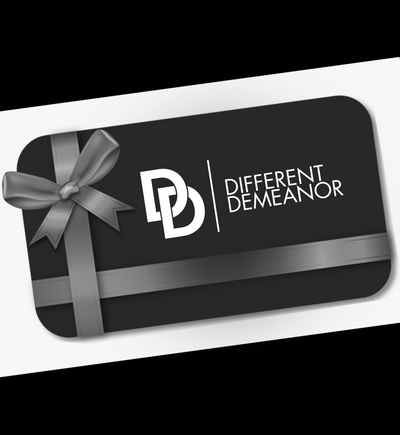 Different Demeanor Gift Card