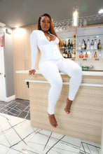 Load image into Gallery viewer, Dress It Up Jumpsuit - White