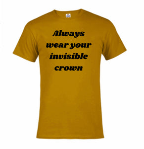 Invisible Crown T-shirt