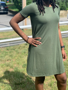 Short sleeve dress - multiple colors