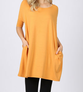 Oversized Tunic - multiple colors