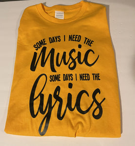 Music and Lyrics Long Sleeve T—shirt