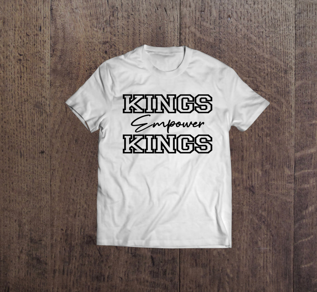 Kings Empower Kings T-shirt