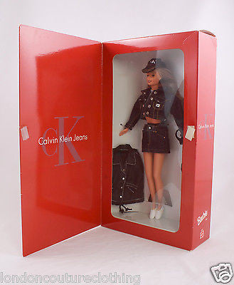 NIB/NRFB CALVIN KLEIN BLOOMINGDALE'S LIMITED EDITION  BARBIE DOLL MATTEL #16211 - London Couture  - 1