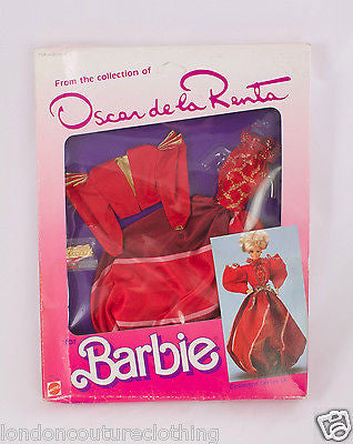 NIB/NRFB OSCAR DE LA RENTA 1985  COLLECTOR SERIES IX BARBIE OUTFIT MATTEL #2763 - London Couture  - 1