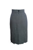 ESCADA BLACK WHITE HERRINGBONE SKIRT SIZE 8 US 38 EUR - London Couture  - 2