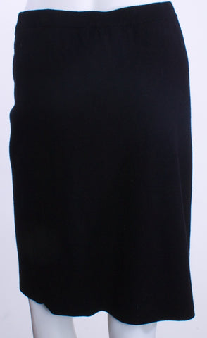 BCBG MAXAZRIA Black Knit Skirt Small - London Couture  - 1