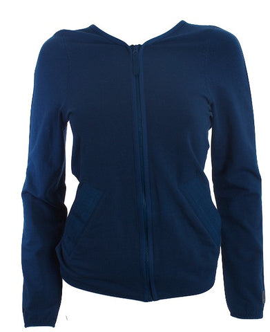 STELLA MCCARTNEY   Adidas  VEGAN Athletic  PEACOCK  BLUE Jacket Size 36 - London Couture  - 1