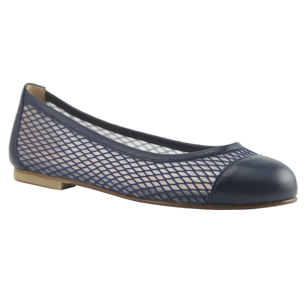 Jessica Navy Diamond Mesh