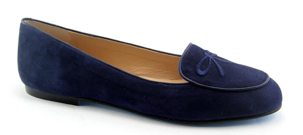 Madison Navy Suede