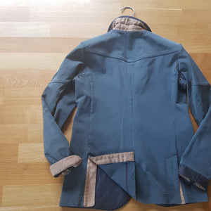 Animo boys grey show jacket  (boys size / age 12) - Robyn's Tack Room