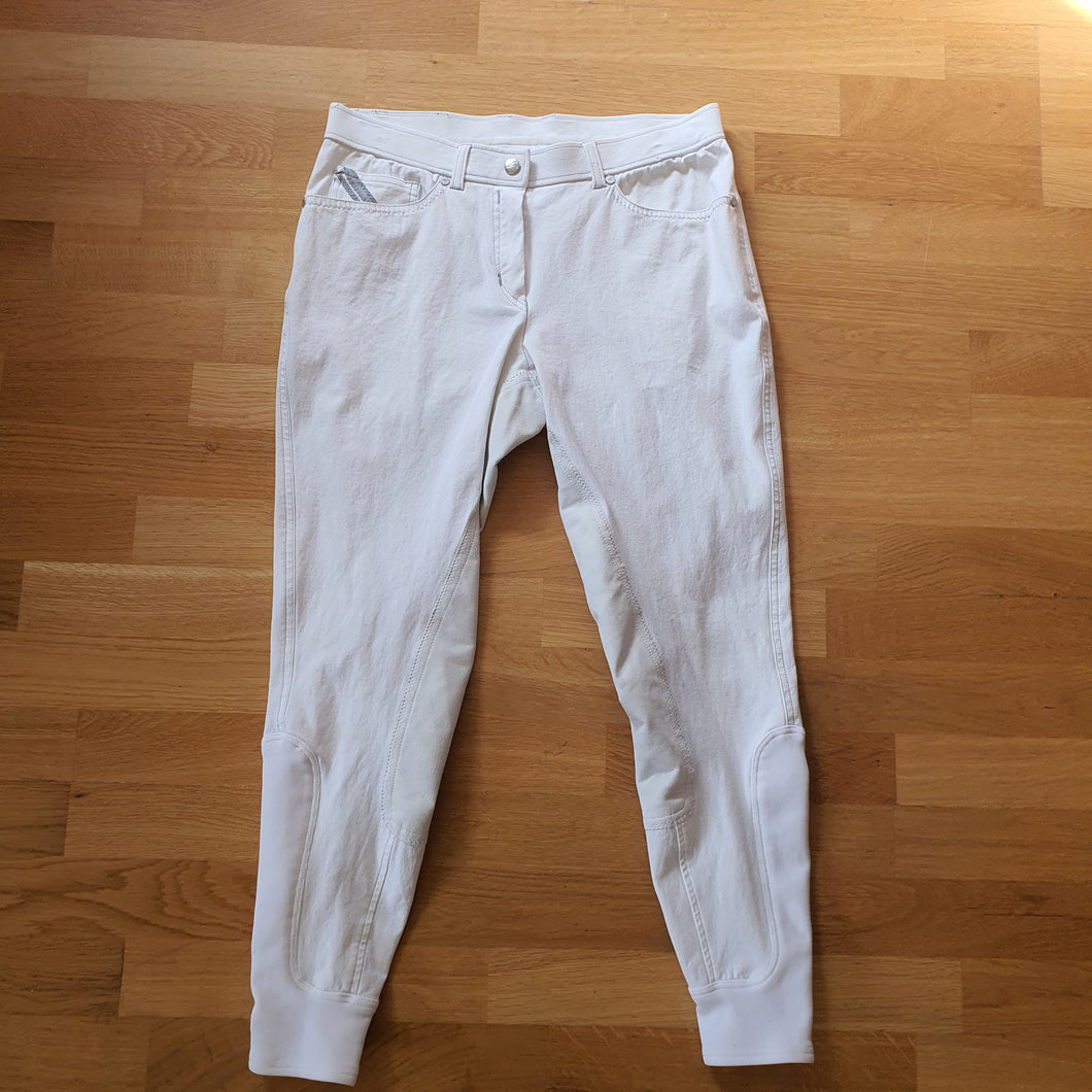 Euro Star White Breeches Ladies Size 12 - Robyn's Tack Room