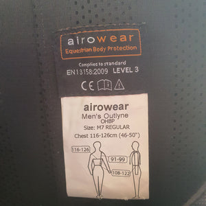 Airowear Outlyne body protector (Mens sizes)