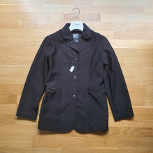 Load image into Gallery viewer, Horze black show jacket ladies size 8 / girls size 14