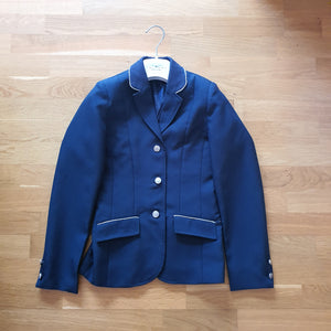 Club navy show jacket, girls age 11/12