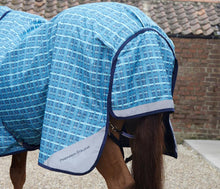 Load image into Gallery viewer, Premier Equine Tybalt Stratus 100g Turnout Rug with Neck Cover