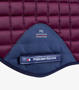 Premier Equine Capella Close Contact Merino Wool GP/Jump Square Saddle Pad